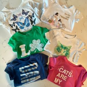Other - Bundle of Girls Graphic Tees